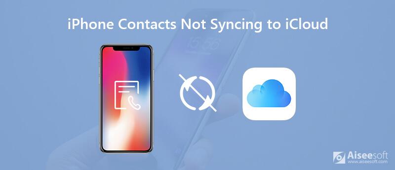 Contatti iPhone non sincronizzati con iCloud