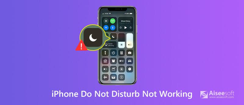 Διόρθωση Μην ενοχλείτε που δεν λειτουργεί