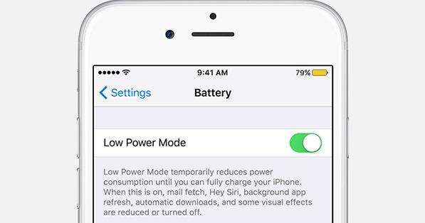 Lage iPhone-batterij