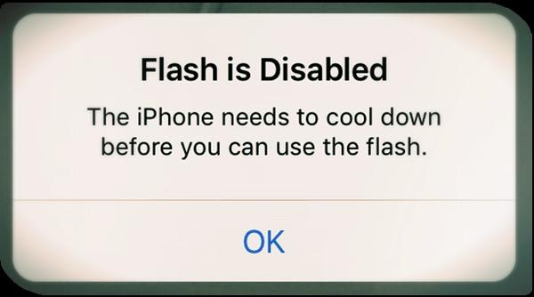 iPhone oververhitting