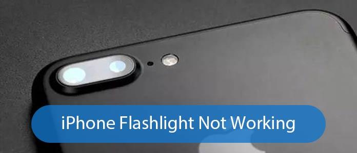Fix iPhone-zaklamp werkt niet