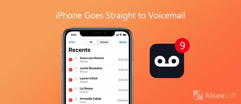 iPhone Goes Straight To Voicemail
