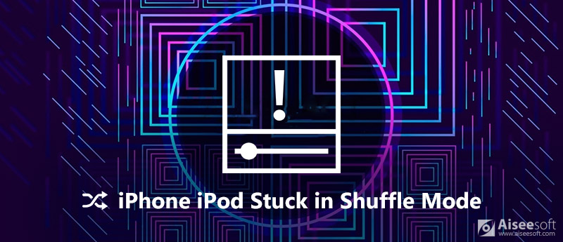 Το iPhone iPod έχει κολλήσει στη λειτουργία τυχαίας αναπαραγωγής