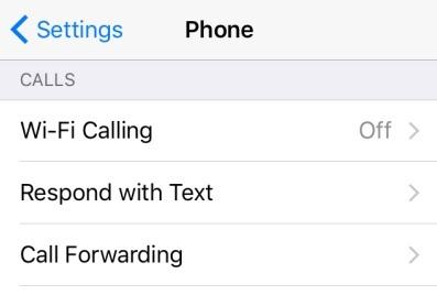 Inoltro di chiamata