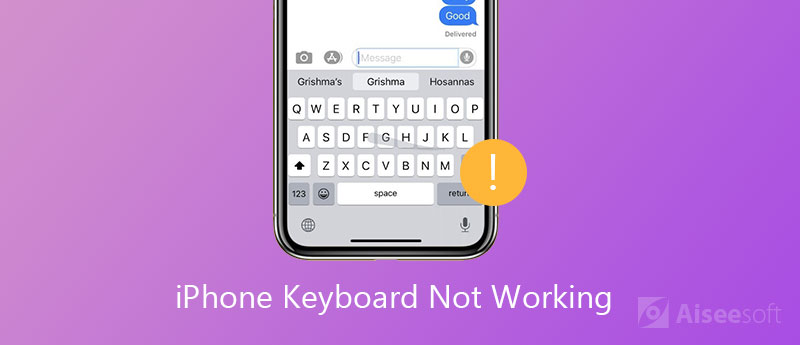 Risolto il problema con la tastiera dell'iPhone