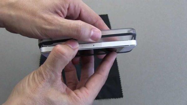Telefoonhoes verwijderen