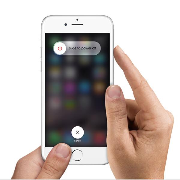 Start de iPhone opnieuw