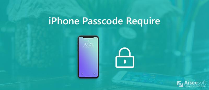 Διορθώστε την απαίτηση κωδικού πρόσβασης iPhone