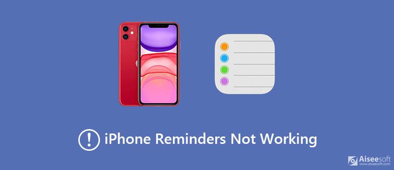 Připomenutí iPhone nefungují