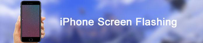 Schermo iPhone lampeggiante