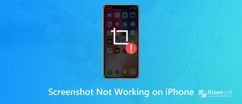 Το στιγμιότυπο οθόνης του iPhone δεν λειτουργεί