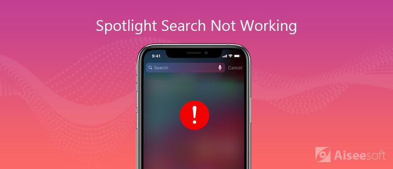 iPhone Spotlight Search Not Working