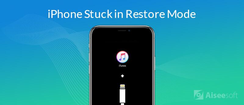 Risolvi iPhone bloccato in modalità di ripristino