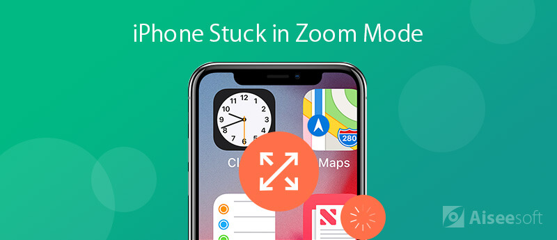 Fix iPhone 6 Stuck in Zoom Mode