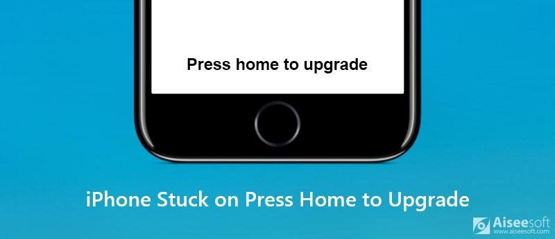 iPhone utknął na stronie głównej, aby dokonać aktualizacji