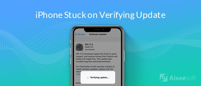 iPhone utknął podczas weryfikacji aktualizacji