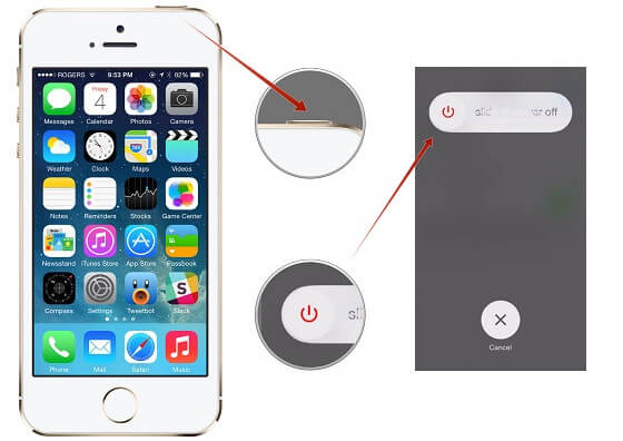 Zrestartuj iPhone'a