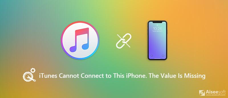 iTunes non è riuscito a connettersi a questo iPhone
