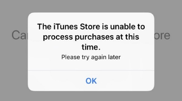 iTunes Store non disponibile