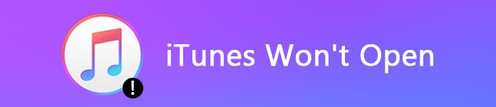 iTunes non si aprirà