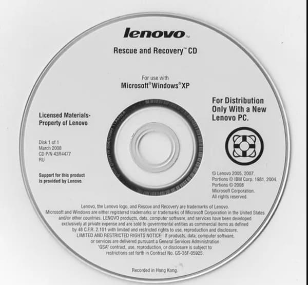 lenovo recovery tools windows 10