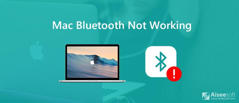 Napraw Bluetooth nie działa na komputerze Mac