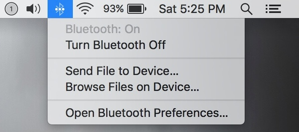 Bluetooth abilitato