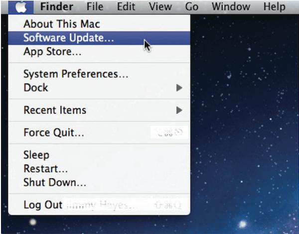 Ενημέρωση λογισμικού σε Mac