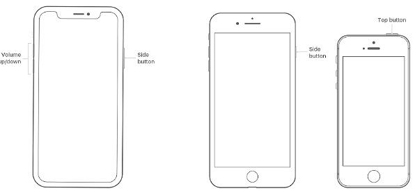 Forza il riavvio del tuo iPhone