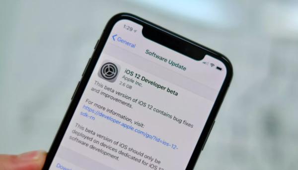 Scarica iOS 12 beta