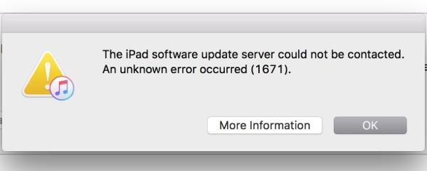 errori di iTunes