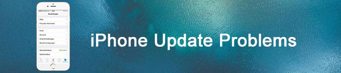 Problemi di aggiornamento dell'iPhone