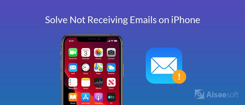 Δεν λαμβάνετε μηνύματα ηλεκτρονικού ταχυδρομείου στο iPhone