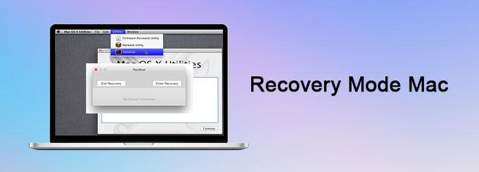 Modalità di recupero Mac