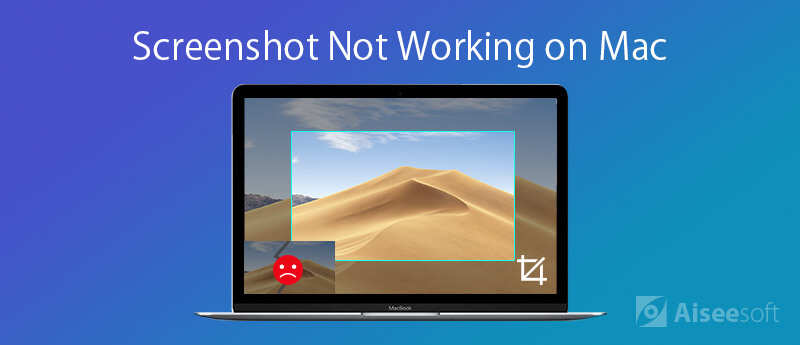 Napraw zrzut ekranu na komputerze Mac nie działa