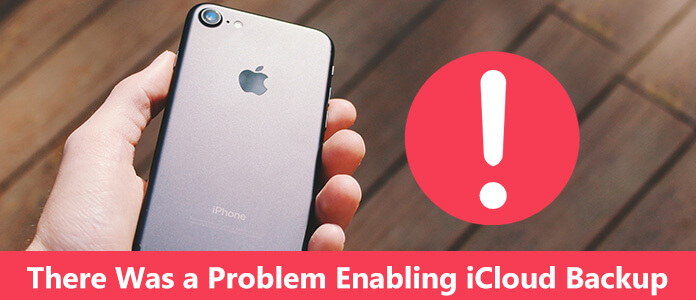 Si è verificato un problema durante l'attivazione del backup iCloud