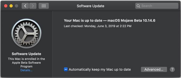 Ενημερώστε το macOS