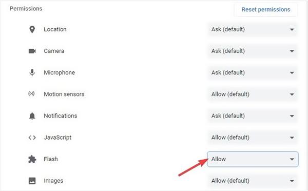 Povolte Flash Player a opravte videa, která se v prohlížeči Chrome nehrají