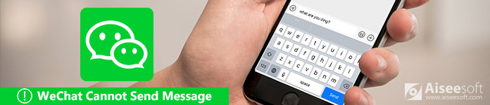 WeChat non può inviare messaggi
