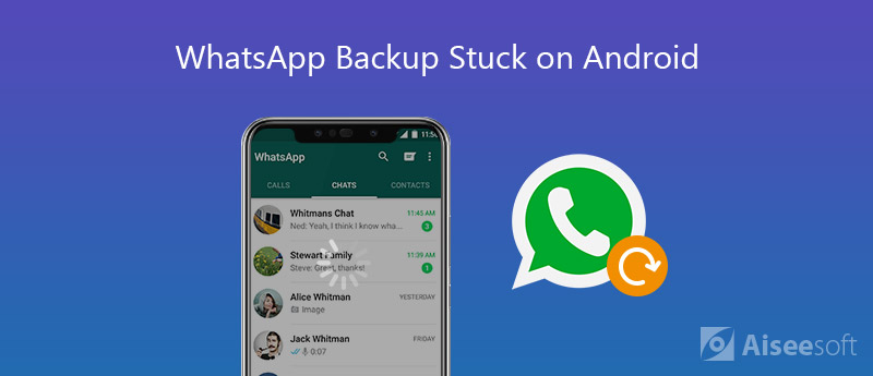 Backup di WhatsApp bloccato su Android