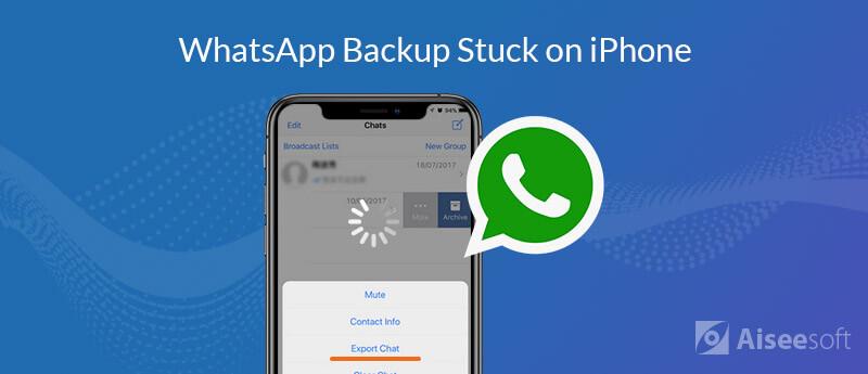 Whatsapp Backup bloccato su iPhone