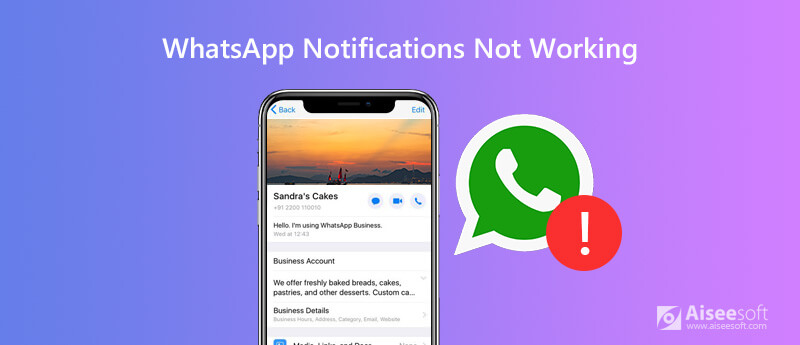 Powiadomienie Whatsapp nie działa