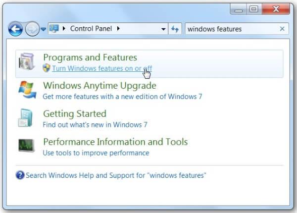 Επαναφέρετε το Windows Media Player