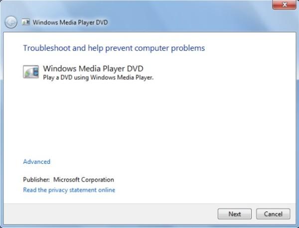 Αντιμετώπιση προβλημάτων του Windows Media Player που δεν λειτουργεί