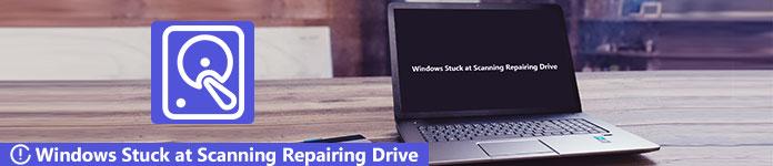 Windows bloccato su Scanning Repairing Drive