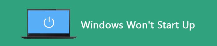 Windows nie chce się uruchomić
