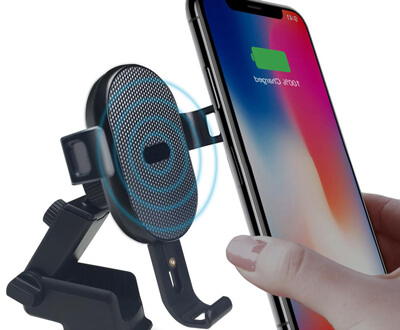 Put iPhone in Wireless Charger Closer