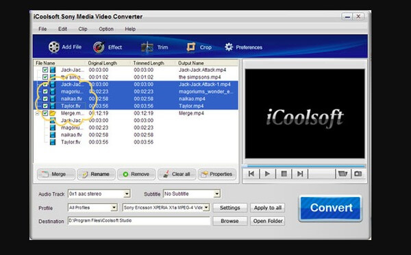 iCoolsoft Sony Media Video Converter