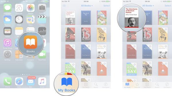 Βιβλία στο iPhone