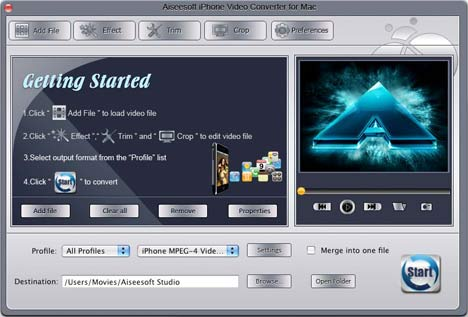 How to convert WMV to iPhone MP4 Mac